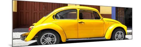 ¡Viva Mexico! Panoramic Collection - The Yellow Beetle Car-Philippe Hugonnard-Mounted Photographic Print