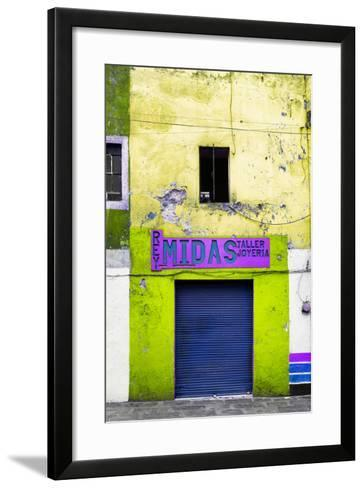 ¡Viva Mexico! Collection - Yellow Taller-Philippe Hugonnard-Framed Art Print