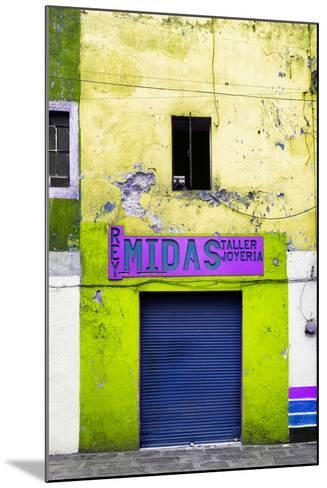 ¡Viva Mexico! Collection - Yellow Taller-Philippe Hugonnard-Mounted Photographic Print