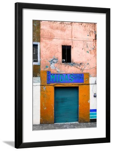 ¡Viva Mexico! Collection - Orange Taller-Philippe Hugonnard-Framed Art Print