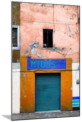 ¡Viva Mexico! Collection - Orange Taller-Philippe Hugonnard-Mounted Photographic Print