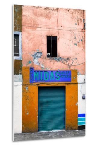 ¡Viva Mexico! Collection - Orange Taller-Philippe Hugonnard-Metal Print