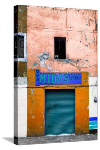¡Viva Mexico! Collection - Orange Taller-Philippe Hugonnard-Stretched Canvas Print