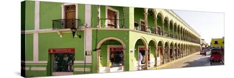 ¡Viva Mexico! Panoramic Collection - Campeche Architecture-Philippe Hugonnard-Stretched Canvas Print