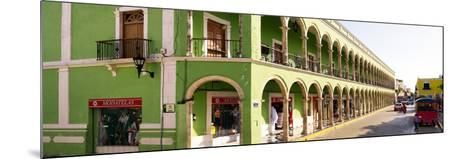 ¡Viva Mexico! Panoramic Collection - Campeche Architecture-Philippe Hugonnard-Mounted Photographic Print