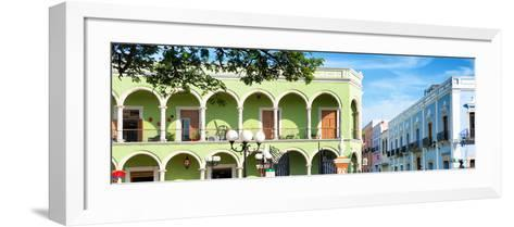 ¡Viva Mexico! Panoramic Collection - Campeche Architecture VI-Philippe Hugonnard-Framed Art Print