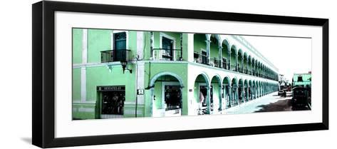 ¡Viva Mexico! Panoramic Collection - Campeche Architecture III-Philippe Hugonnard-Framed Art Print