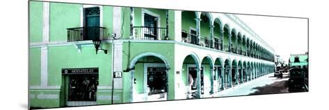 ¡Viva Mexico! Panoramic Collection - Campeche Architecture III-Philippe Hugonnard-Mounted Photographic Print