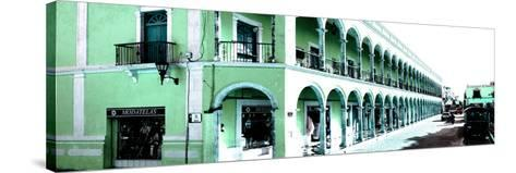 ¡Viva Mexico! Panoramic Collection - Campeche Architecture III-Philippe Hugonnard-Stretched Canvas Print