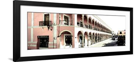¡Viva Mexico! Panoramic Collection - Campeche Architecture II-Philippe Hugonnard-Framed Art Print