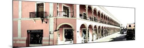 ¡Viva Mexico! Panoramic Collection - Campeche Architecture II-Philippe Hugonnard-Mounted Photographic Print