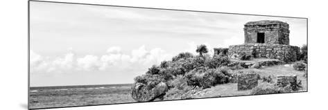 ¡Viva Mexico! Panoramic Collection - Ancient Mayan Fortress in Riviera Maya - Tulum II-Philippe Hugonnard-Mounted Photographic Print