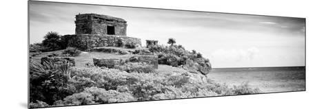¡Viva Mexico! Panoramic Collection - Ancient Mayan Fortress in Riviera Maya - Tulum V-Philippe Hugonnard-Mounted Photographic Print