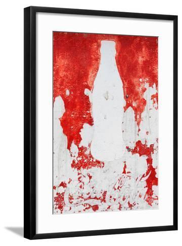 ¡Viva Mexico! Collection - Red Coke-Philippe Hugonnard-Framed Art Print