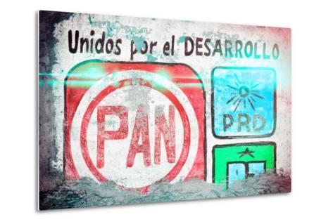 "?Viva Mexico! Collection - ""PAN"" Street Art II-Philippe Hugonnard-Metal Print"