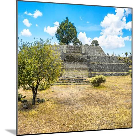 ¡Viva Mexico! Square Collection - Pyramid of Cantona-Philippe Hugonnard-Mounted Photographic Print