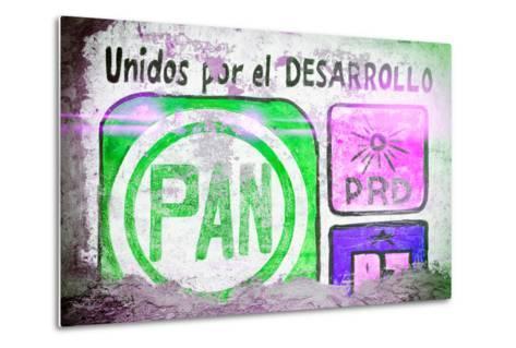 "?Viva Mexico! Collection - ""PAN"" Street Art IV-Philippe Hugonnard-Metal Print"