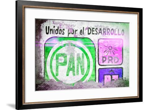 "?Viva Mexico! Collection - ""PAN"" Street Art IV-Philippe Hugonnard-Framed Art Print"