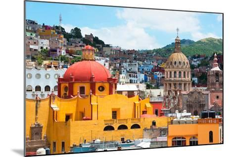 ¡Viva Mexico! Collection - Guanajuato - Church Domes-Philippe Hugonnard-Mounted Photographic Print