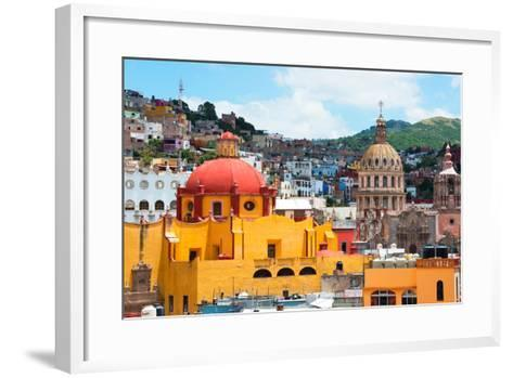 ¡Viva Mexico! Collection - Guanajuato - Church Domes-Philippe Hugonnard-Framed Art Print