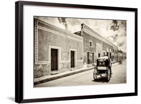 ¡Viva Mexico! B&W Collection - Izamal the Yellow City-Philippe Hugonnard-Framed Art Print