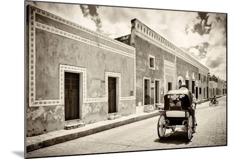 ¡Viva Mexico! B&W Collection - Izamal the Yellow City-Philippe Hugonnard-Mounted Photographic Print