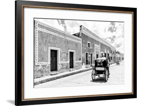 ¡Viva Mexico! B&W Collection - Izamal the Yellow City II-Philippe Hugonnard-Framed Art Print