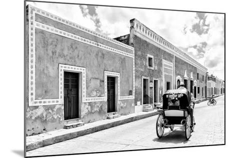 ¡Viva Mexico! B&W Collection - Izamal the Yellow City II-Philippe Hugonnard-Mounted Photographic Print