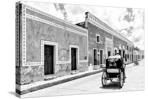 ¡Viva Mexico! B&W Collection - Izamal the Yellow City II-Philippe Hugonnard-Stretched Canvas Print