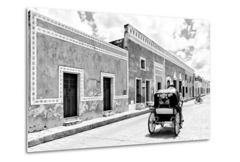 ¡Viva Mexico! B&W Collection - Izamal the Yellow City II-Philippe Hugonnard-Metal Print