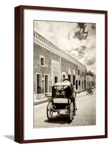 ?Viva Mexico! B&W Collection - Izamal the Yellow City III-Philippe Hugonnard-Framed Art Print