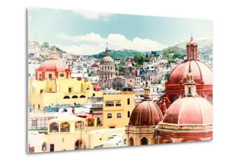 ?Viva Mexico! Collection - Guanajuato Architecture II-Philippe Hugonnard-Metal Print