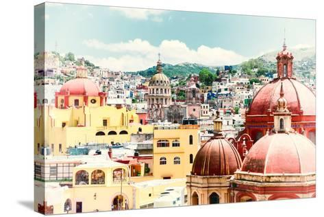 ?Viva Mexico! Collection - Guanajuato Architecture II-Philippe Hugonnard-Stretched Canvas Print