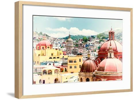 ?Viva Mexico! Collection - Guanajuato Architecture II-Philippe Hugonnard-Framed Art Print