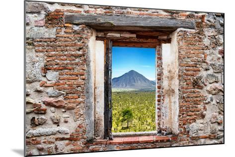?Viva Mexico! Window View - Mexican Desert-Philippe Hugonnard-Mounted Photographic Print