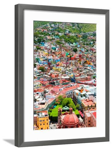 ?Viva Mexico! Collection - Guanajuato - Colorful City IV-Philippe Hugonnard-Framed Art Print