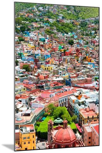 ?Viva Mexico! Collection - Guanajuato - Colorful City IV-Philippe Hugonnard-Mounted Photographic Print