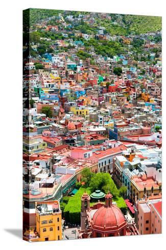 ?Viva Mexico! Collection - Guanajuato - Colorful City IV-Philippe Hugonnard-Stretched Canvas Print