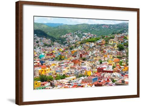 ?Viva Mexico! Collection - Guanajuato - Colorful City-Philippe Hugonnard-Framed Art Print