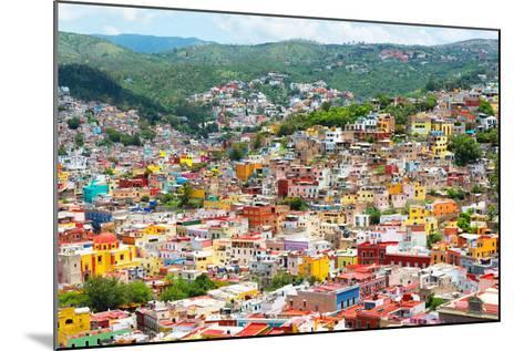 ¡Viva Mexico! Collection - Guanajuato - Colorful City-Philippe Hugonnard-Mounted Photographic Print
