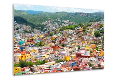 ¡Viva Mexico! Collection - Guanajuato - Colorful City-Philippe Hugonnard-Metal Print