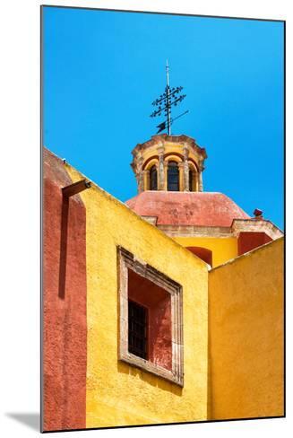¡Viva Mexico! Collection - Yellow Church - Guanajuato-Philippe Hugonnard-Mounted Photographic Print