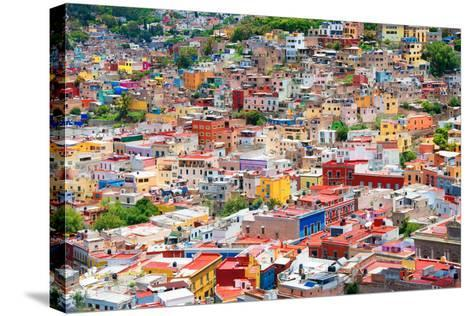 ?Viva Mexico! Collection - Guanajuato - Colorful City II-Philippe Hugonnard-Stretched Canvas Print