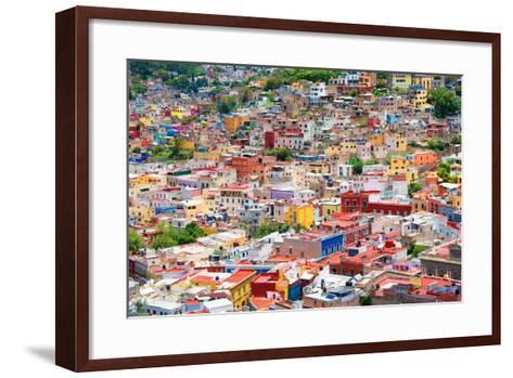 ?Viva Mexico! Collection - Guanajuato - Colorful City II-Philippe Hugonnard-Framed Art Print