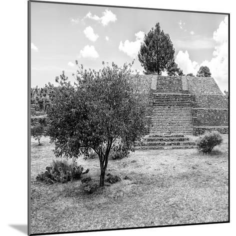 ¡Viva Mexico! Square Collection - Pyramid of Cantona I-Philippe Hugonnard-Mounted Photographic Print