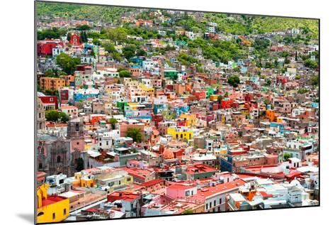 ¡Viva Mexico! Collection - Guanajuato - Colorful City III-Philippe Hugonnard-Mounted Photographic Print
