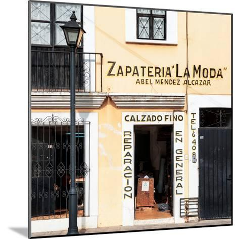 ¡Viva Mexico! Square Collection - Zapateria La Moda-Philippe Hugonnard-Mounted Photographic Print