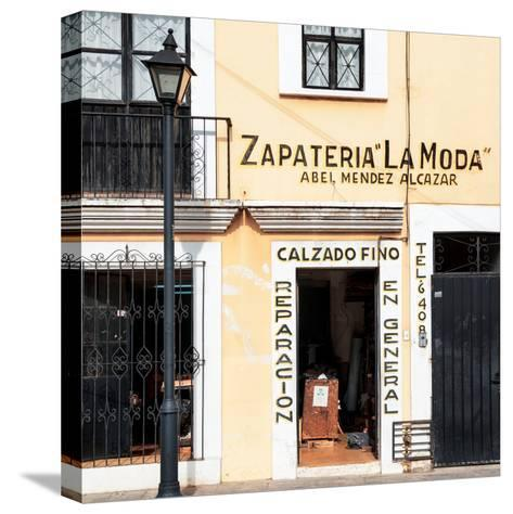 ¡Viva Mexico! Square Collection - Zapateria La Moda-Philippe Hugonnard-Stretched Canvas Print