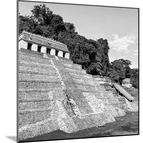 ¡Viva Mexico! Square Collection - Mayan Temple of Inscriptions in Palenque X-Philippe Hugonnard-Mounted Photographic Print
