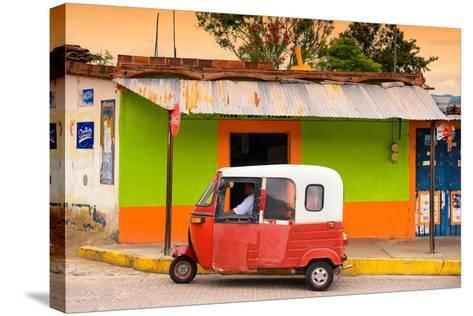 ?Viva Mexico! Collection - Mexican Tuk Tuk-Philippe Hugonnard-Stretched Canvas Print